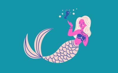 Pinata Meerjungfrau für leuchtende Kinderaugen