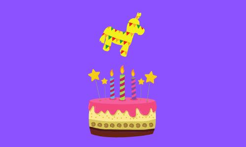 Pinata Geburtstag