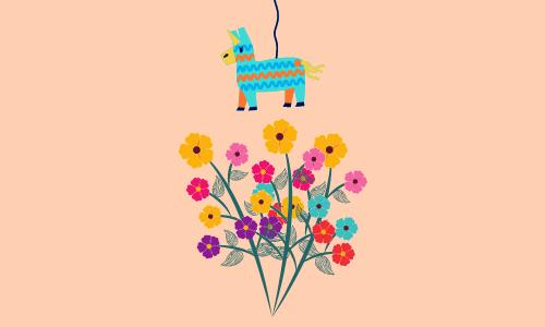 Pinata Muttertag